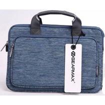 Handbag Tela Para Macbook 15.4 Lotus Azul