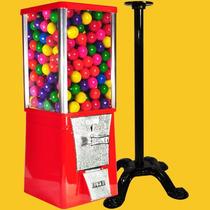 Máquina Chiclera + Pedestal + 470 Chicles Bola $2