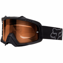 Goggle Fox Airspc Enduro Dual , Negro Mica Naranja Unitalla