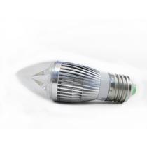 Foco Tipo Vela E27 De Led 4 Watts Luz Blanca Fria Y Calida