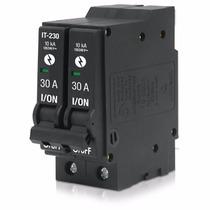 Interruptor Termomagnetico 2 Polos 30a 240v Voltech 26705
