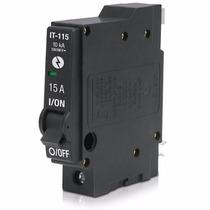 Interruptor Termomagnetico 1 Polos 15a 240v Voltech 46700