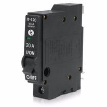 Interruptor Termomagnetico 1 Polos 20a 240v Voltech 26701