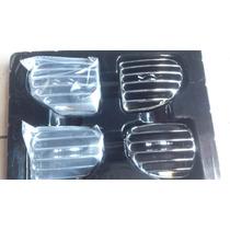 Moldura Interior Para Ventilacion Cromada Para Peugeot 206