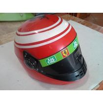 Ferrari Radio Retro Forma De Casco Usado