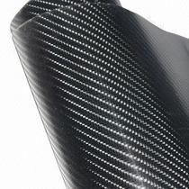 Vinil Fibra De Carbono Autoadherible Negro Brillante 4d