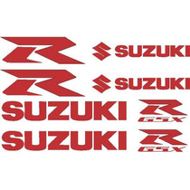 Jgo De 8 Calcomanias Para Tu Suzuki Gsx