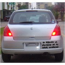 Frase Vinilo Calcomania Sticker Auto Carro Original