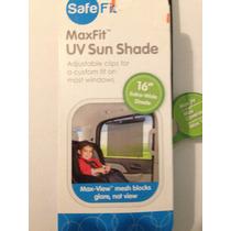 Protector Solar Para Ventana De Auto 16 Safe Fit