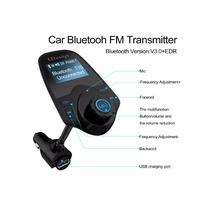 Transmisor Universal Para Coche Control De Musica Fm Bluetoo