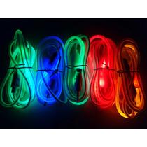 Cable Auxiliar Audio 3.5 Mm Con Luz