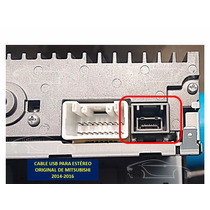 Cable Usb Estereo Original Mitsubishi 2014-2016