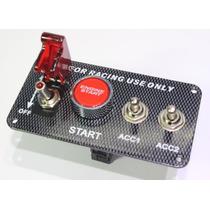 Boton De Encendido Para Autos Start Button Carreras Ignición