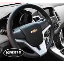 Cubierta De Volante Para Chevrolet Cruze Color Plata
