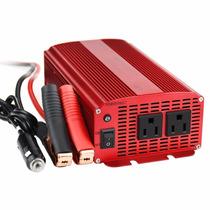 Inversor De Corriente 1000watts/1200watts 12v A 110v