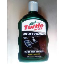 Crema Limpiadora Y Acondicionadora Para Piel Auto Turtle Wax