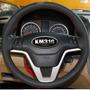 Funda Piel Volante A Medida Honda Crv Hilo Rojo