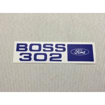 Ford Mustang Boss 69 70 Etiqueta Motor Tapa De Punteria