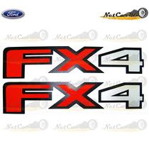 Sticker Calcomania Ford F150 2015 2016 Fx4 Para Costad Batea