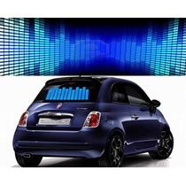 Sticker Led Audio-rítmico Azul, Rojo, Y Multi, Dj, Auto, Mmu