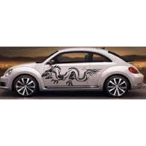 Sticker Dragon En Vinil Gol, Vocho, Chevy Atos Betlee