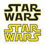 Sticker - Calcomania - Vinil - Logo Star Wars