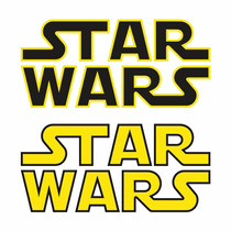 Sticker - Calcomania - Vinil - Logo Star Wars