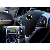Tira Decorativa Adherible Azul Vw Ford Hyundai Audi...
