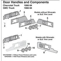 Seguros Puertas Chevrolet 92 A 98 O 88 A 98 Americana
