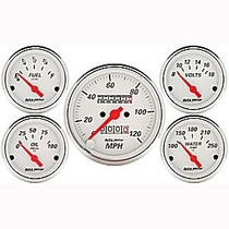 Medidores Autometer Cara Blanca Mustang Chevy Nova Dart