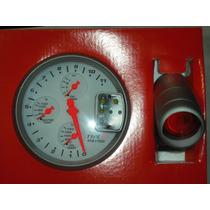 Tacometro Type R 4 En 1 Shiftlight 3 Medidores Aguja