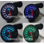 Tacometro Fondo Carbon Shif Light Rpm 7 Colores Tuning Auto