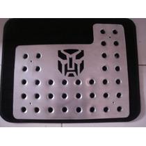 Posapies Logo Autobots Transformers Aluminio Tres Piezas