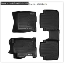 Tapete Maxfloormat Accord Sedan 2013-2016 1ra 2da Fila Black