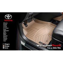 Tapetes Toyota Uso Rudo 1a Y 2a Fila Weathertech Floorliner