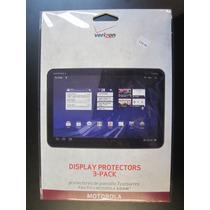 Mica Protector Para Motorola Xoom Clear Paquete Con 3 Piezas