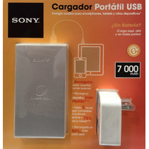 Sony® Cycle Energy Cargador Usb 7000 Mah Ipad Xperia Tablet
