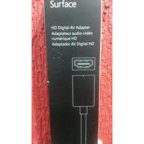 Adaptador Hdmi Original Microsoft Surface Rt