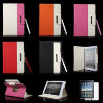 Funda Ipad Mini Giratoria 360º Tipo Notebook + Mica + Stylus