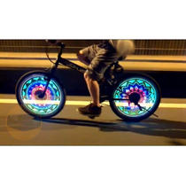 Tira Luz 48 Led Programable Para Bicicleta Rueda Moto Etc
