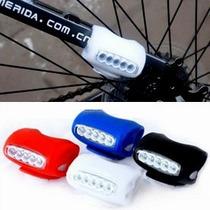 Luz Silicón 7 Leds Bicicleta Seguridad Accesorios