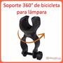 Soporte De Lampara Tactica Para Bicicleta