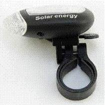 ¡olvidate De Comprar Pilas!- Lampara Delantera Energia Solar