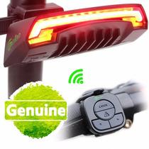 Lampara Bicicleta Luces Direccionales Laser Control Remoto
