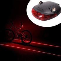 Laser Para Bicicletas, Crea Carril Virtual, Leds, Laser Rojo