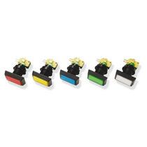 Botón Luminoso Rectangular Con Micro