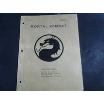 Manual Para Placa Jamma Mortal Kombat