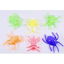 Juguete Para Maquina Chiclera, Insecto De Plastico Flexible.
