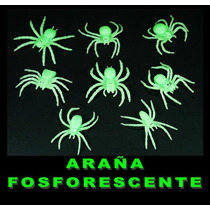Juguete Miniatura Para Maquina Chiclera, Araña Fosforescente