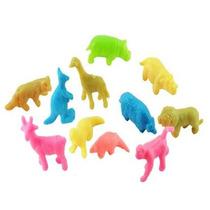 Juguete Miniatura Para Maquina Chiclera, Mini Zoológico.
